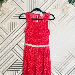 Postmark | Anthropologie Polka Dot Dress